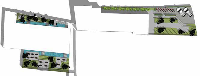 bảng vẽ thiết kế cảnh quan chung cư