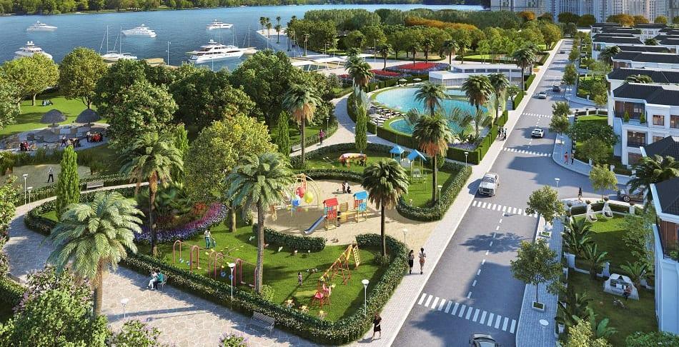 Thiết kế cảnh quan công viên cây xanh