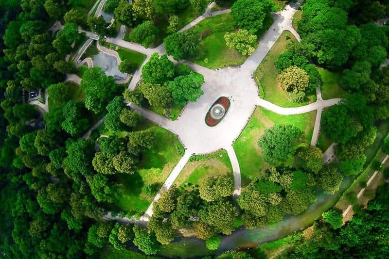 Mẫu thiết kế cảnh quan công viên