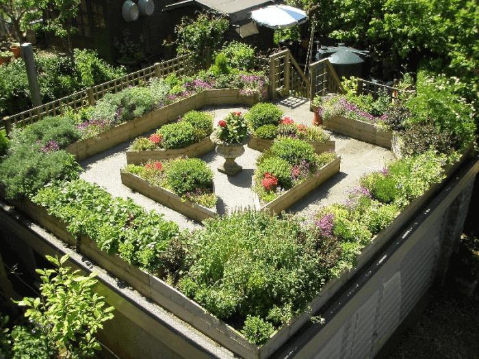cấu tạo vườn trên mái