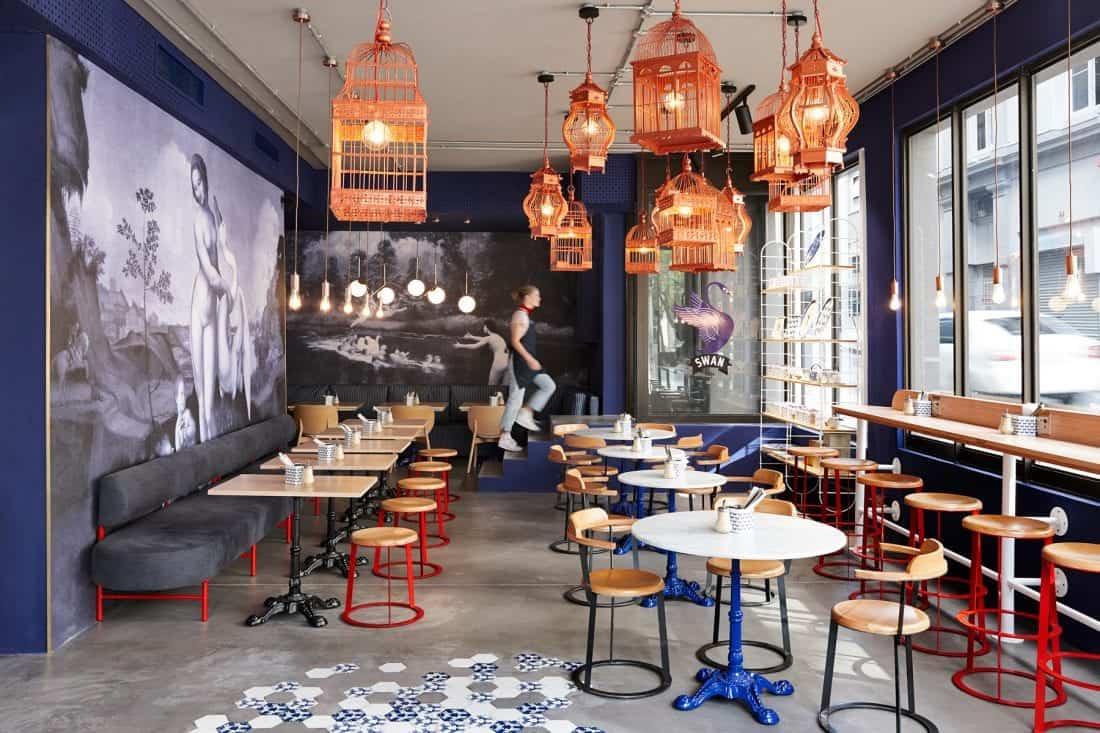 bóng đèn trang trí quán cafe