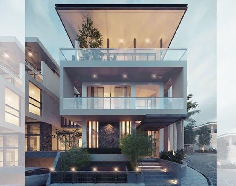 mẫu thiết kế ngoại thất nhà đẹp