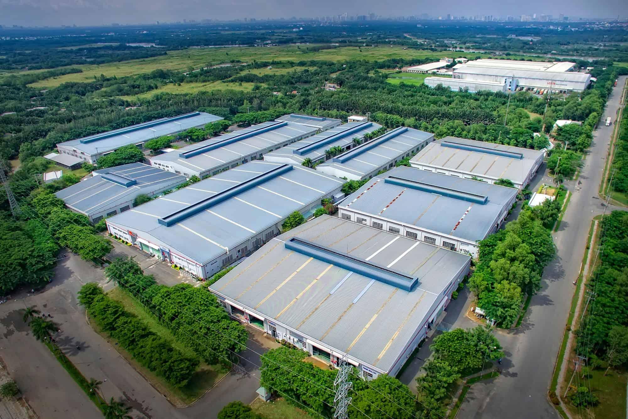 cảnh quan khu công nghiệp