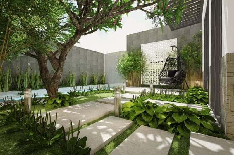kiến trúc xanh nhà phố