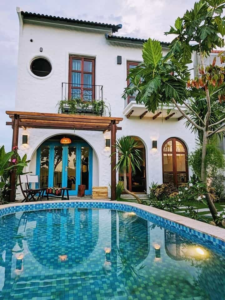 mẫu sân vườn Địa Trung Hải đẹp