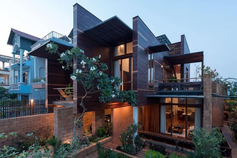 Mẫu ngoại thất nhà phố đẹp