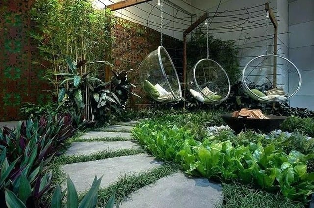 thiết kế mẫu sân vườn đẹp