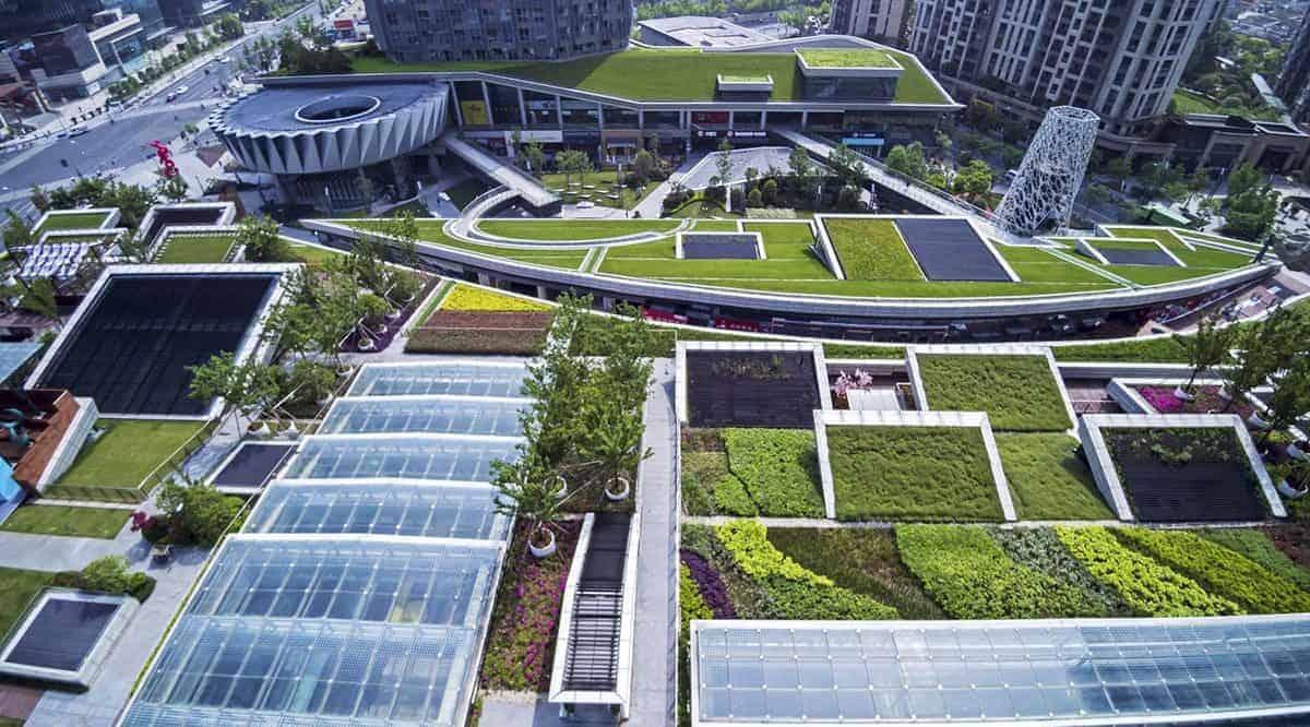 kiến trúc cảnh quan bền vững