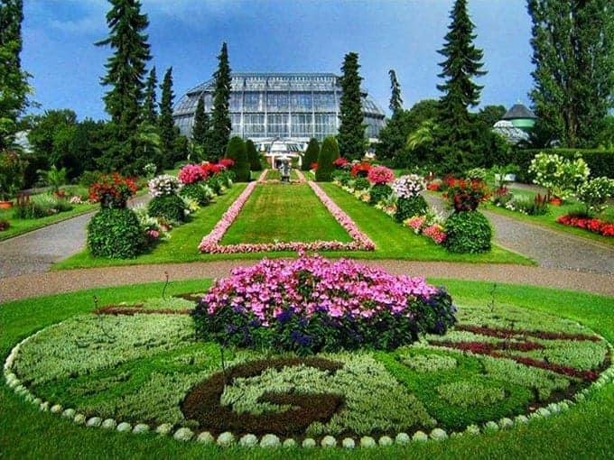 thiết kế cảnh quan sân vườn kiểu dáng châu Âu