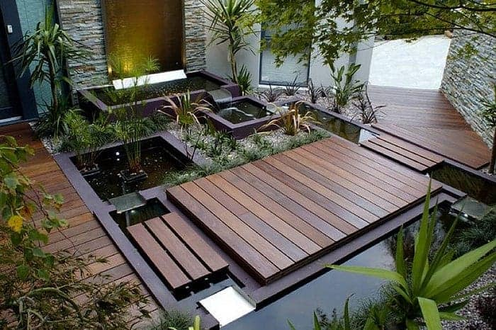 sân vườn thiết kết kiểu dáng châu Âu